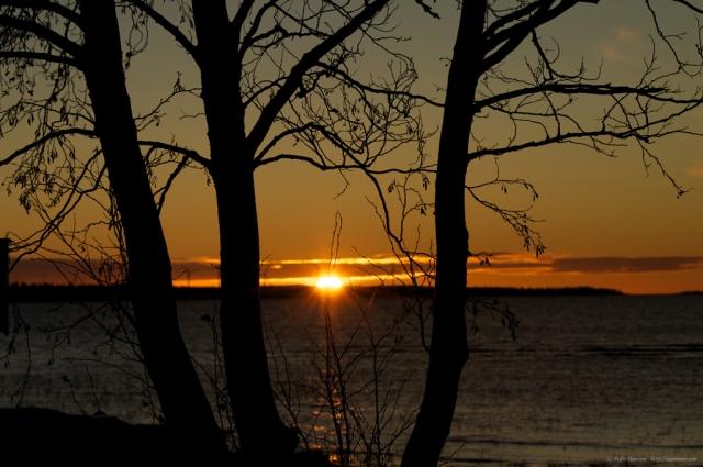 Autumn sunrise - Piteå
