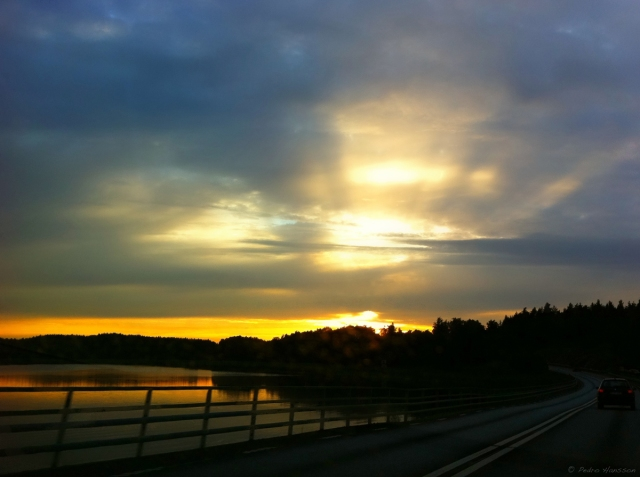 © Pedro Hansson - Swedish Countryside from a car window - iPhone 4