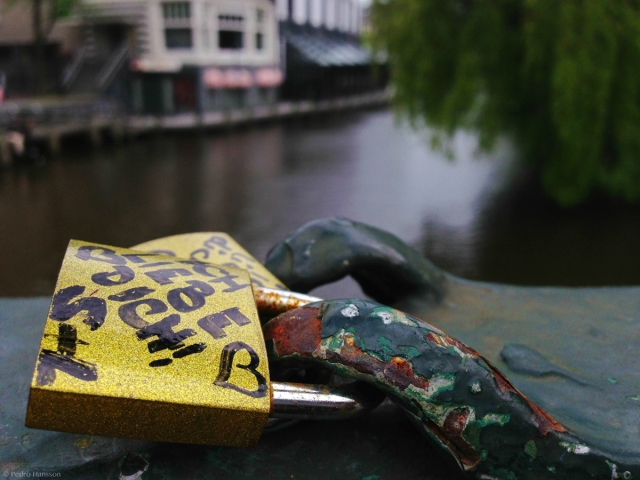 © Pedro Hansson - Love locks Amsterdam