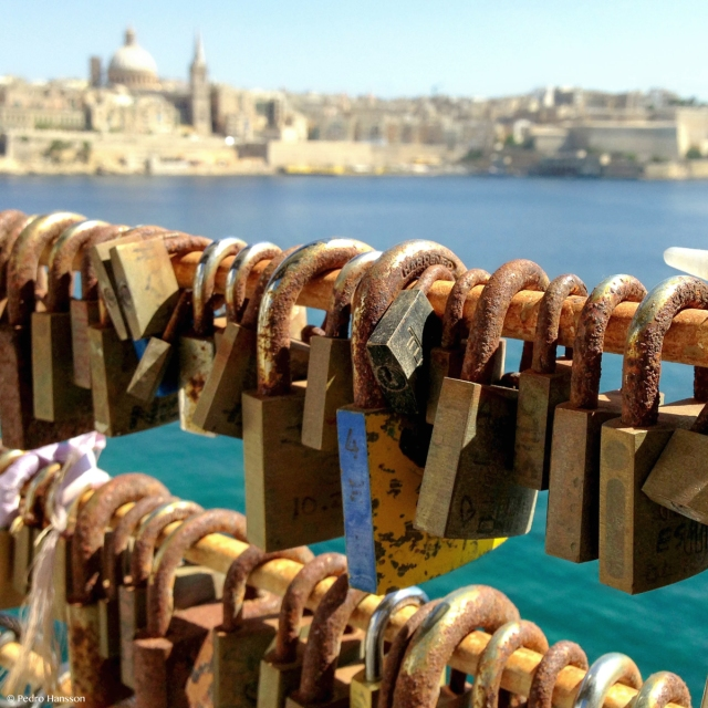 © Pedro Hansson - Love locks Malta