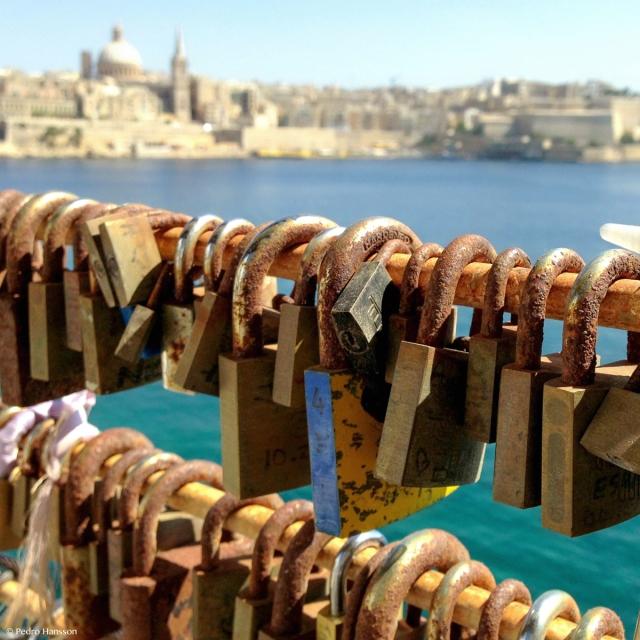 © Pedro Hansson - Love locks Malta