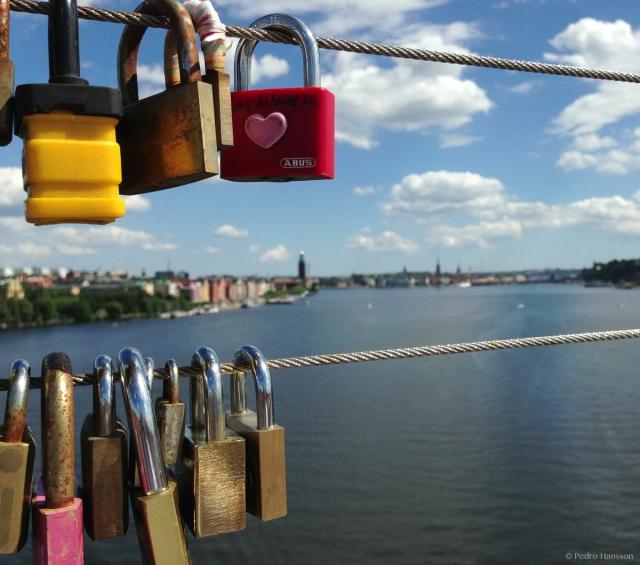 © Pedro Hansson - Love locks Stockholm