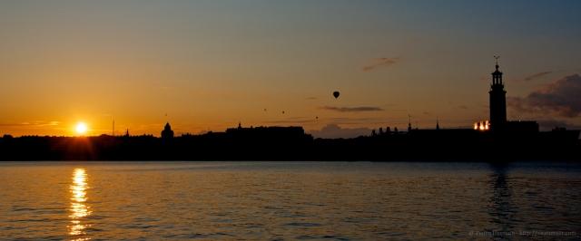 @ Pedro Hansson - Stockholm skyline