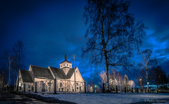 © Pedro Hansson - Piteå City Church