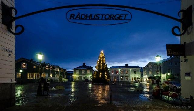 © Pedro Hansson - Piteå Town Square - Rådhustorget