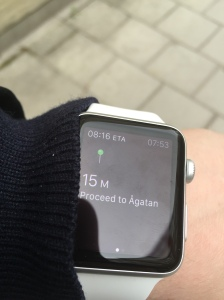 Apple Watch - Directions